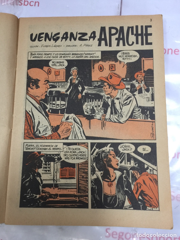 Tebeos: SIOUX VENGANZA APACHE Novela grafica para adultos Ediciones TORAY - Foto 4 - 86823928