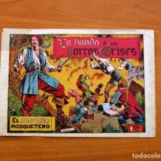 Tebeos: EL PEQUEÑO MOSQUETERO Nº 12 - LA BANDA DE LOS ZORROS GRISES - EDICIONES TORAY 1951. Lote 86836600
