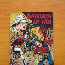 Tebeos: SELECCIÓN DE AVENTURAS, Nº 8 - SEPULTADOS EN VIDA - EDICIONES TORAY 1950. Lote 86837172