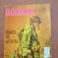 Tebeos: NOVELA GRAFICA PARA ADULTOS , N.3 , BOIXCAR , TITANES DE LA SELVA , TORAY 1963 , COMO NUEVA. Lote 86884172