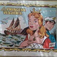 Tebeos: ANTIGUO TEBEO NIÑA «LA PRINCESA VIAJERA» COLECCIÓN «ALICIA». Lote 154221986