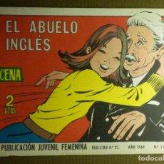 Tebeos: TEBEO - COMIC - COLECCION AZUCENA - EL ABUELO INGLÉS - Nº 1114 - EDICIONES TORAY - 1969. Lote 87049660