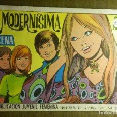 Tebeos: TEBEO - COMIC - COLECCION AZUCENA - MODERNÍSIMA - Nº 1202 - EDICIONES TORAY - 1971. Lote 87049876