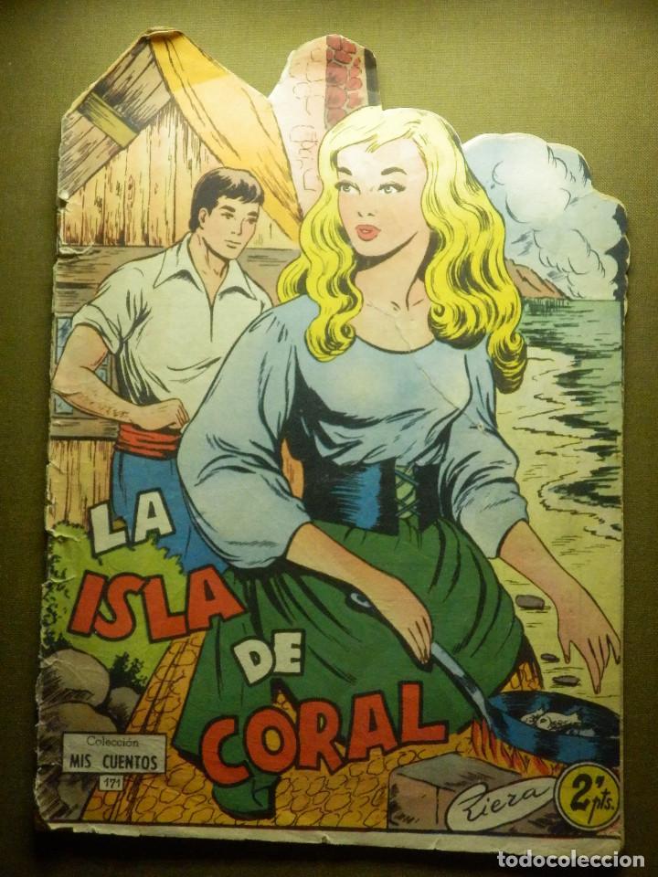COMIC -TEBEO - LA ISLA DE CORAL - Nº 171 - COLECCIÓN MIS CUENTOS - TORAY - (Tebeos y Comics - Toray - Otros)