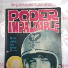 Tebeos: PODER IMPALPABLE NÚMERO 6 EDITORIAL TORAY DE 1965. Lote 87293867