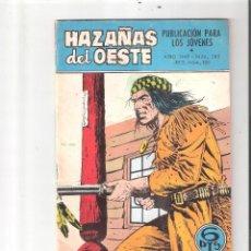Tebeos: HAZAÑAS DEL OESTE Nº 183-EDICIONES TORAY. Lote 87312696