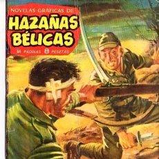Tebeos: HAZAÑAS BELICAS. TRES HOMBRES VAN A MORIR. Nº 24 EDICIONES TORAY 1962. Lote 87340208