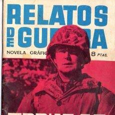 Tebeos: RELATOS DE GUERRA. TOQUE DE SILENCIO. Nº 7. EDICIONES TORAY 1962. Lote 87341140