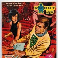 Tebeos: ROBOT 76 - Nº 3 - EL FIN DEL MUNDO - ED. TORAY - 1967. Lote 88502128
