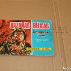 Tebeos: HAZAÑAS BÉLICAS ALMANAQUE 1966, EDITORIAL TORAY. Lote 88853520
