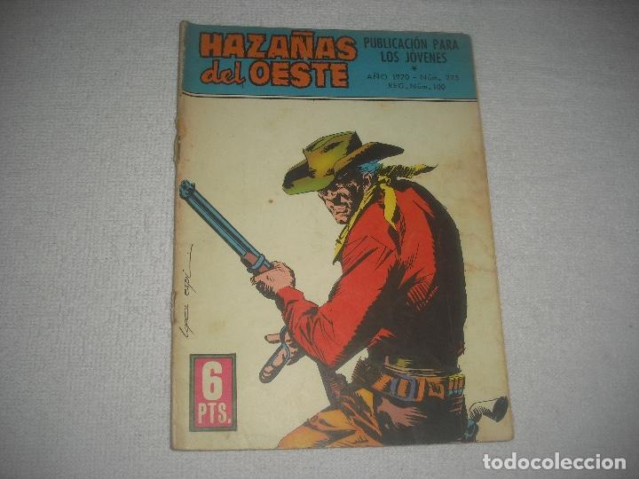 HAZAÑAS DEL OESTE N° 223 (Tebeos y Comics - Toray - Hazañas del Oeste)