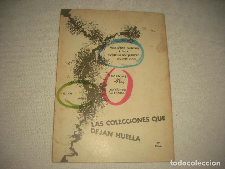 Tebeos: HAZAÑAS DEL OESTE N° 196 - Foto 2 - 89081452
