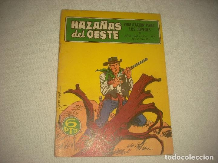 HAZAÑAS DEL OESTE N° 196 (Tebeos y Comics - Toray - Hazañas del Oeste)