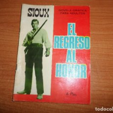 Tebeos: SIOUX Nº 80 EL REGRESO AL HONOR EDITORIAL TORAY . Lote 89505252