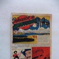 Tebeos: SELECCION DE AVENTURAS Nº 47 TORAY SERIE OESTE ORIGINAL. Lote 89770492