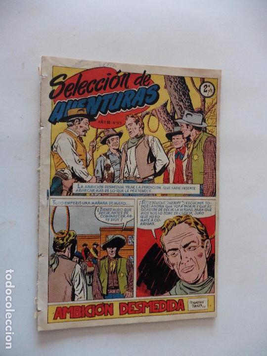 SELECCION DE AVENTURAS Nº 50 TORAY SERIE OESTE ORIGINAL (Tebeos y Comics - Toray - Otros)