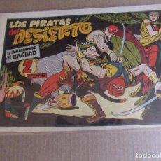 Tebeos: EL ENMASCARADO DE BAGDAD Nº 8 LOS PIRATAS DEL DESIERTO ORIGINAL IMPECABLE. Lote 90410889
