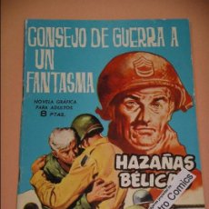 Tebeos: HAZAÑAS BÉLICAS, Nº 81, ED. TORAY, DESDE 1961, BÉLICO GUERRA AVENTURAS ERCOM. Lote 90450149