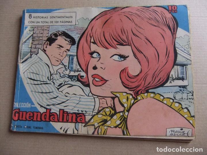 GUENDOLINA TOMO DE EDITORIAL CON 8 NUMEROS EDICIONES TORAY (Tebeos y Comics - Toray - Guendalina)