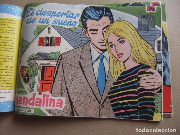 Tebeos: GUENDOLINA TOMO DE EDITORIAL CON 8 NUMEROS EDICIONES TORAY - Foto 3 - 90952195