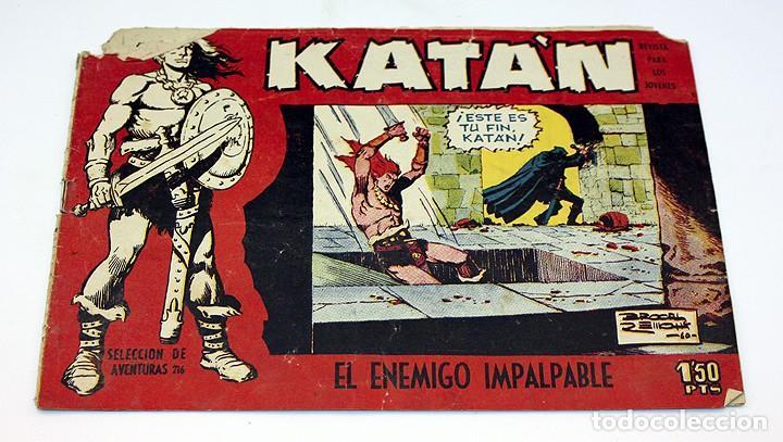 KATAN - EL ENEMIGO IMPALPABLE - TORAY - COMIC (Tebeos y Comics - Toray - Katan)