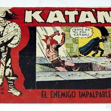 Tebeos: KATAN - EL ENEMIGO IMPALPABLE - TORAY - COMIC . Lote 91380110
