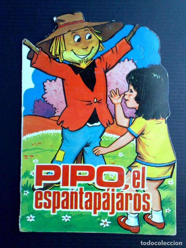 CUENTO INFANTIL ANTIGUO,TROQUELADO-PIPO EL ESPANTAPAJAROS,CUENTOS TORAY (DESCRIPCIÓN) (Tebeos y Comics - Toray - Otros)