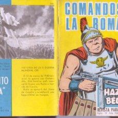Tebeos: HAZAÑAS BÉLICAS GORILA Nº 190 - TORAY 1965 - MUY BUENA CONSERVACION. Lote 92848465