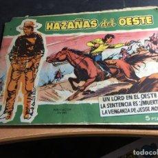 Tebeos: HAZAÑAS DEL OESTE Nº 11 (ED. TORAY) (C6). Lote 92853450