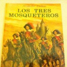 Tebeos: LOS TRES MOSQUETEROS - TAPA DURA - 1975. Lote 93021795