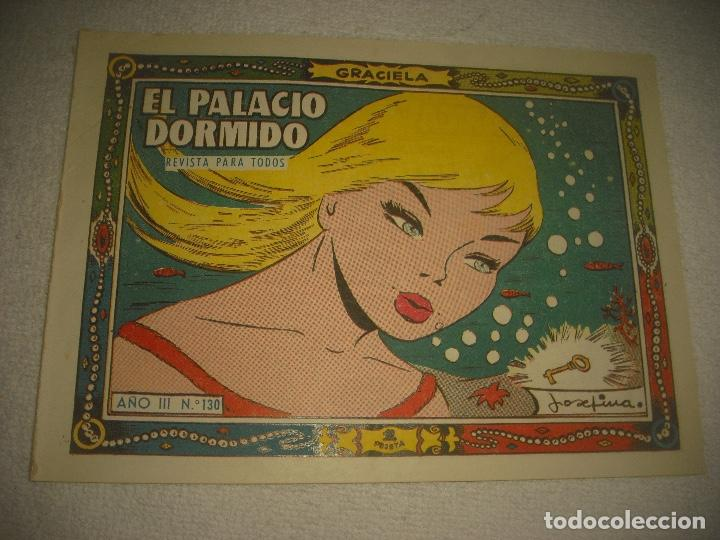 GRACIELA N° 130 . EL PALACIO DORMIDO . (Tebeos y Comics - Toray - Graciela)