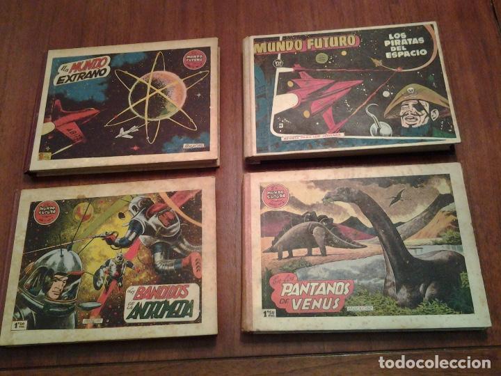 EL MUNDO FUTURO - EDITORIAL TORAY - DIBUJANTE BOIXCAR - 4 TOMOS - COLECCION COMPLETA (Tebeos y Comics - Toray - Mundo Futuro)