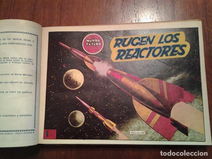 Tebeos: EL MUNDO FUTURO - EDITORIAL TORAY - DIBUJANTE BOIXCAR - 4 TOMOS - COLECCION COMPLETA - Foto 7 - 93614715