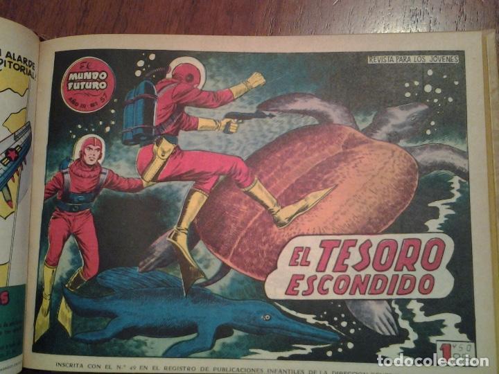 Tebeos: EL MUNDO FUTURO - EDITORIAL TORAY - DIBUJANTE BOIXCAR - 4 TOMOS - COLECCION COMPLETA - Foto 29 - 93614715