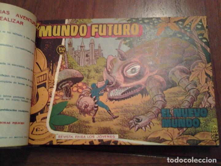 Tebeos: EL MUNDO FUTURO - EDITORIAL TORAY - DIBUJANTE BOIXCAR - 4 TOMOS - COLECCION COMPLETA - Foto 37 - 93614715