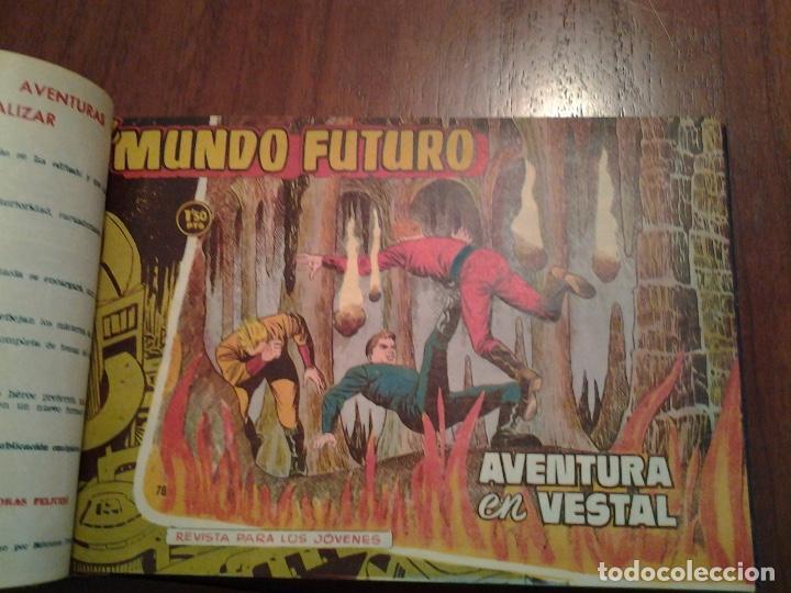 Tebeos: EL MUNDO FUTURO - EDITORIAL TORAY - DIBUJANTE BOIXCAR - 4 TOMOS - COLECCION COMPLETA - Foto 38 - 93614715