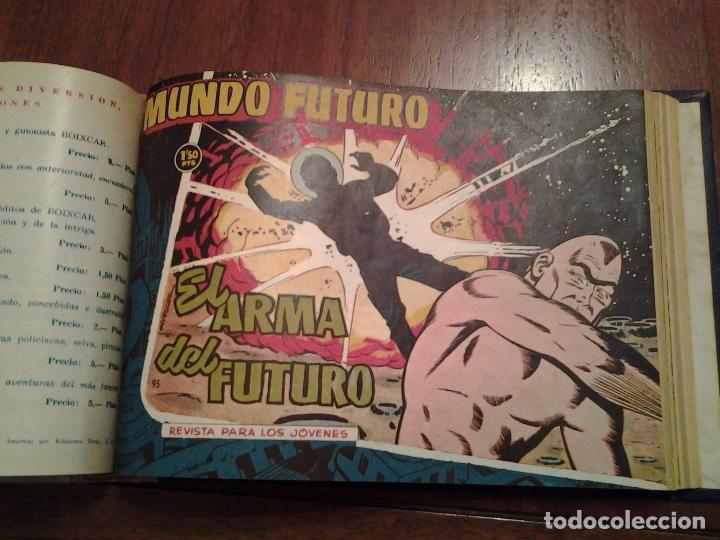 Tebeos: EL MUNDO FUTURO - EDITORIAL TORAY - DIBUJANTE BOIXCAR - 4 TOMOS - COLECCION COMPLETA - Foto 40 - 93614715