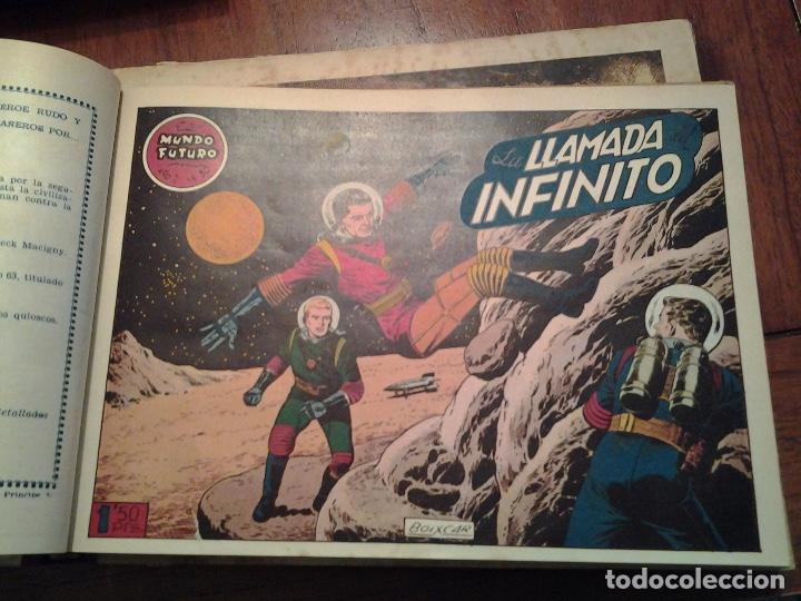 Tebeos: EL MUNDO FUTURO - EDITORIAL TORAY - DIBUJANTE BOIXCAR - 4 TOMOS - COLECCION COMPLETA - Foto 56 - 93614715