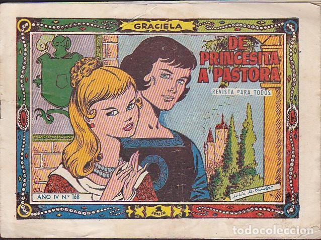 COMIC COLECCION GRACIELA Nº 168 (Tebeos y Comics - Toray - Graciela)