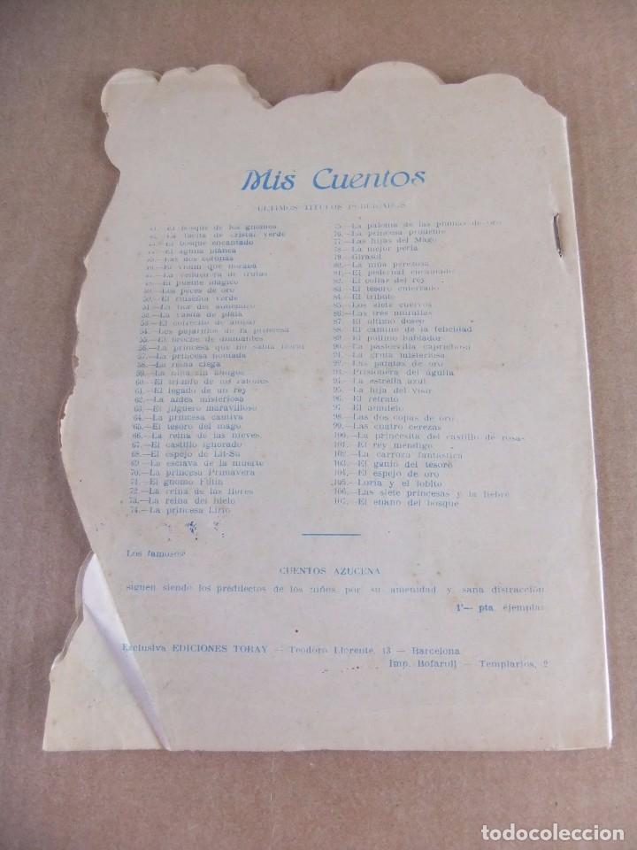 Tebeos: MIS CUENTOS Nº 107 EL ENANO DEL BOSQUE EDICIONES TORAY - Foto 2 - 94008990