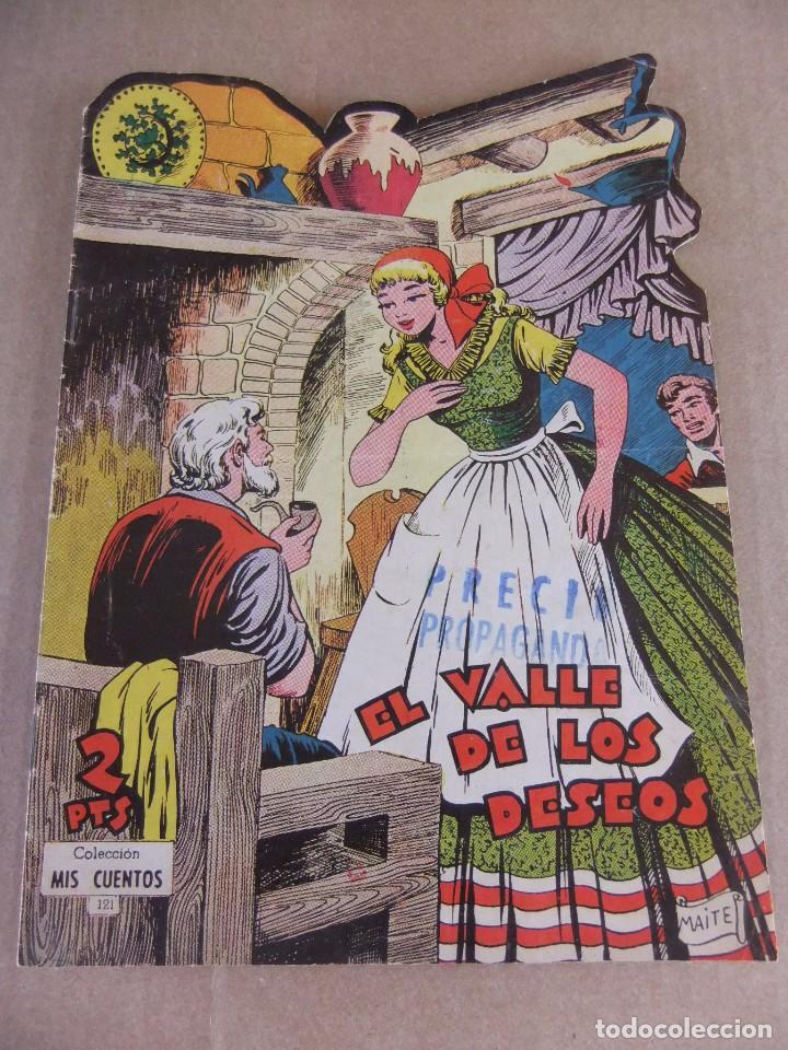 MIS CUENTOS Nº 121 EL VALLE DE LOS DESEOS EDICIONES TORAY (Tebeos y Comics - Toray - Otros)