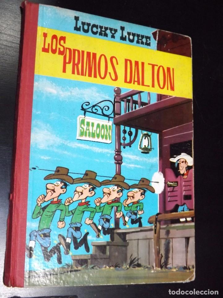 LUCKY LUKE: LOS PRIMOS DALTON. EDICIONES TORAY, 1963. (Tebeos y Comics - Toray - Otros)