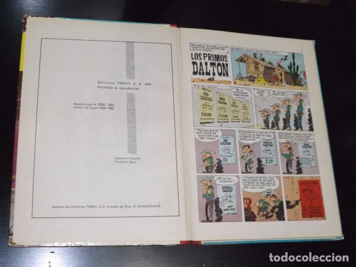 Tebeos: LUCKY LUKE: LOS PRIMOS DALTON. EDICIONES TORAY, 1963. - Foto 3 - 94178445