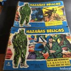 Tebeos: HAZAÑAS BELICAS LOTE 25 EJEMPLARES (TORAY) (C6). Lote 94527858