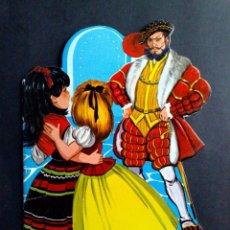 Tebeos: CUENTO INFANTIL ANTIGUO,BARBA AZUL-TROQUELEADO-MINICLASICOS TORAY,Nº25 (DESCRIPCIÓN). Lote 94936139
