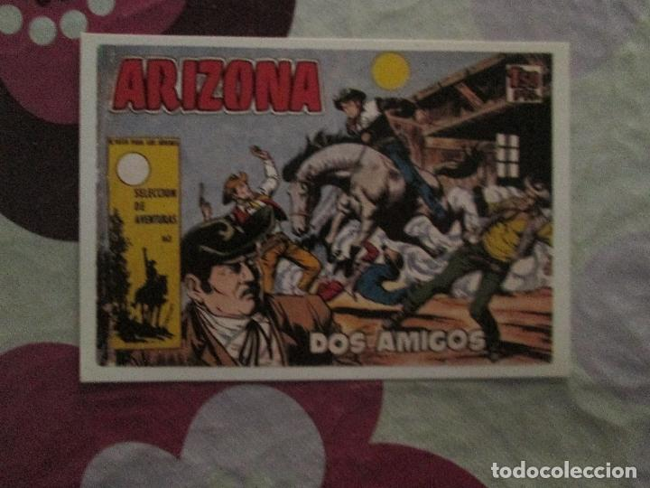 ARIZONA Nº 1 FICHA (Tebeos y Comics - Toray - Otros)