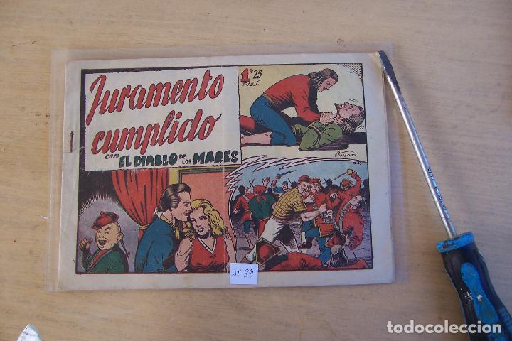 TORAY.- EL DIABLO DE LOS MARES Nº 68 ÚLTIMO (Tebeos y Comics - Toray - Diablo de los Mares)