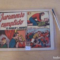 Tebeos: TORAY.- EL DIABLO DE LOS MARES Nº 68 ÚLTIMO . Lote 95160459
