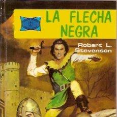 Tebeos: 5 LA FLECHA NEGRA ROBERT L STEVENSON EDICIONES TORAY 1976. Lote 95170571
