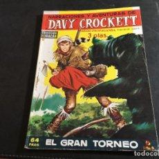 Tebeos: DAVY CROCKETT Nº 5 EL GRAN TORNEO (ORIGINAL ED. TORAY) (COI30). Lote 95386843
